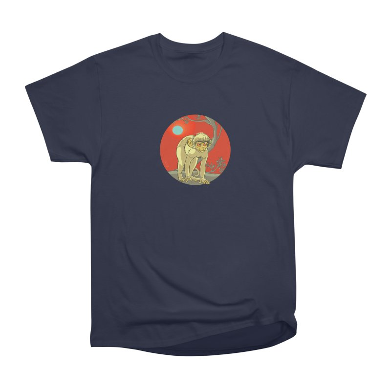 Monkey Zodiac Women's Classic Unisex T-Shirt by CB Design