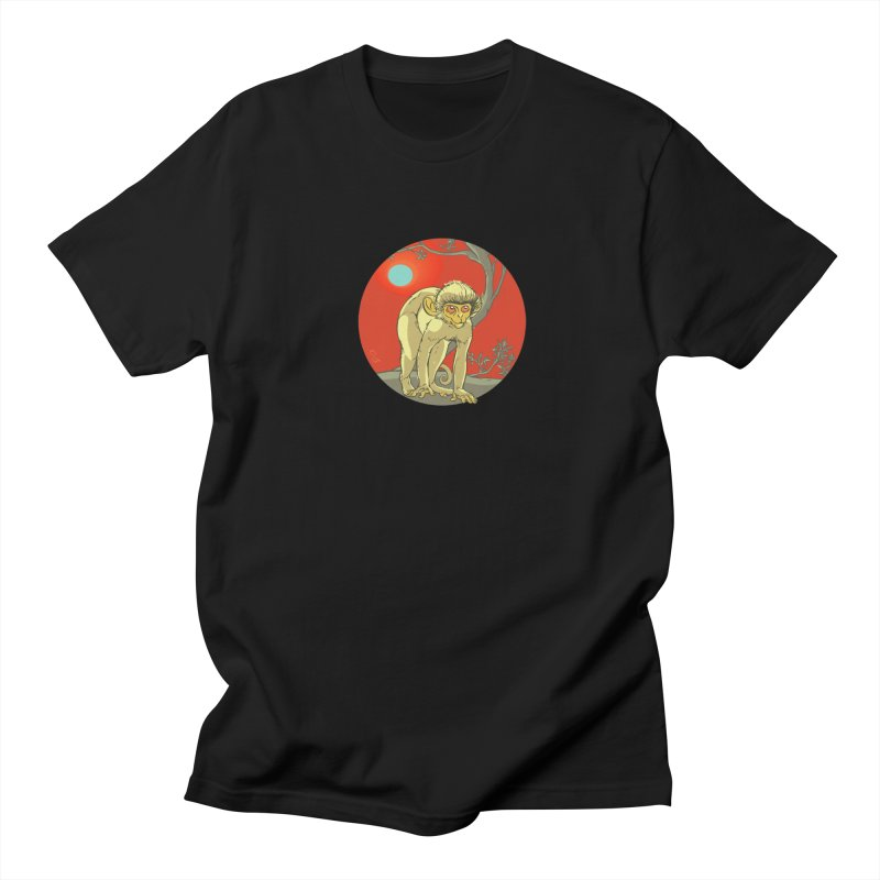 Monkey Zodiac Men's Regular T-Shirt by CB Design