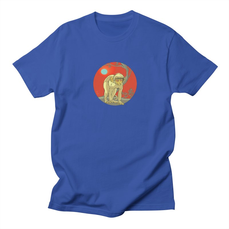 Monkey Zodiac Men's Regular T-Shirt by CB Design