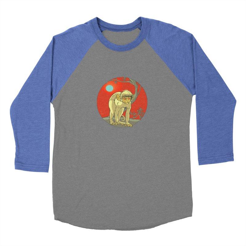 Monkey Zodiac Women's Baseball Triblend T-Shirt by CB Design