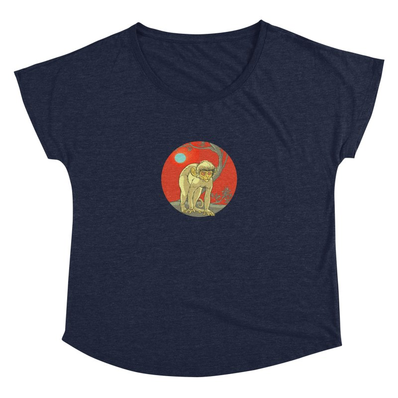 Monkey Zodiac Women's Dolman by CB Design