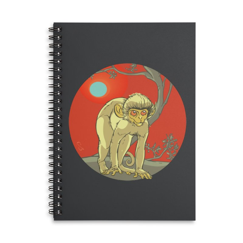 Monkey Zodiac Accessories Notebook by CB Design