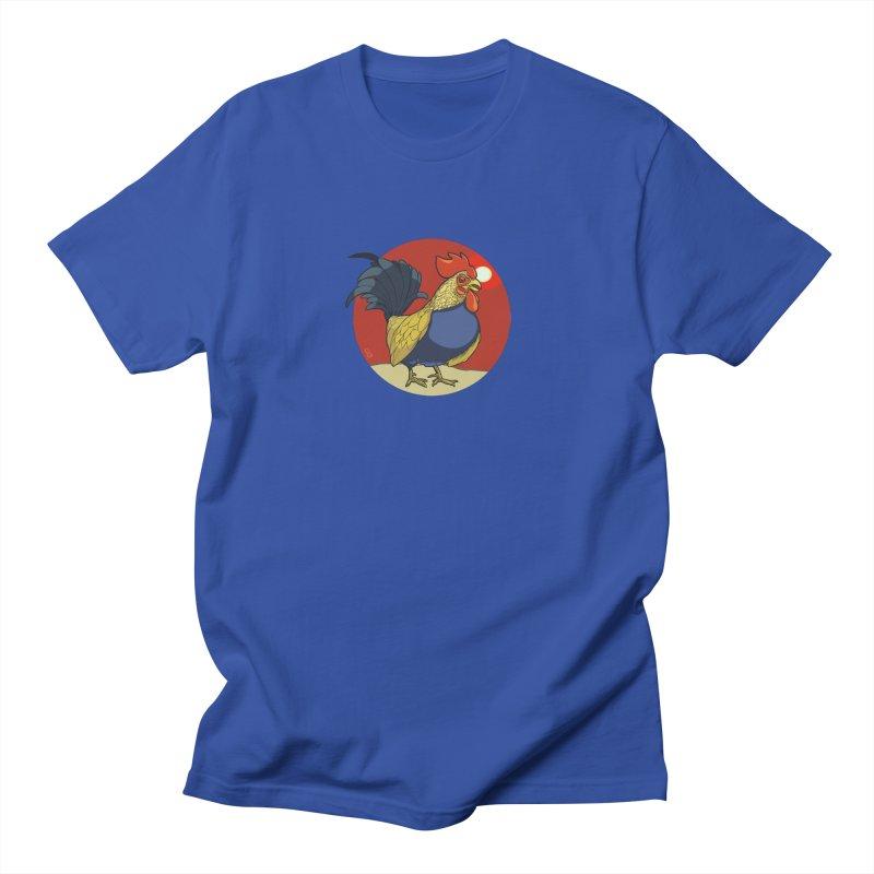Rooster Zodiac Men's T-Shirt by CB Design