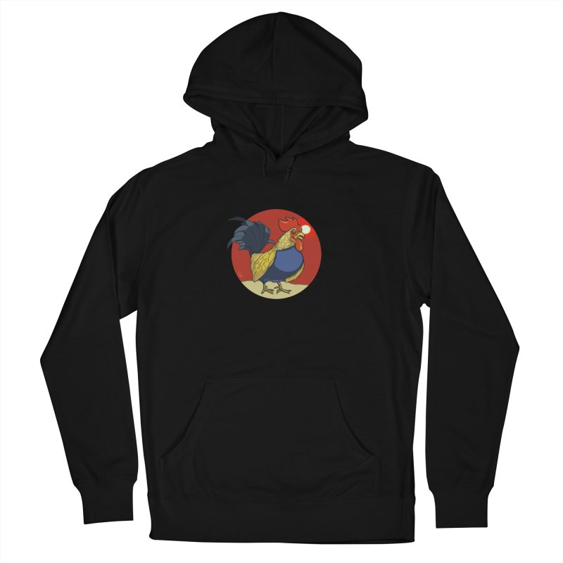 Rooster Zodiac Women's Pullover Hoody by CB Design
