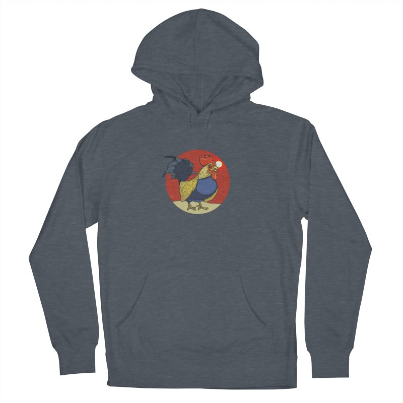 Rooster Zodiac Men's Pullover Hoody by CB Design