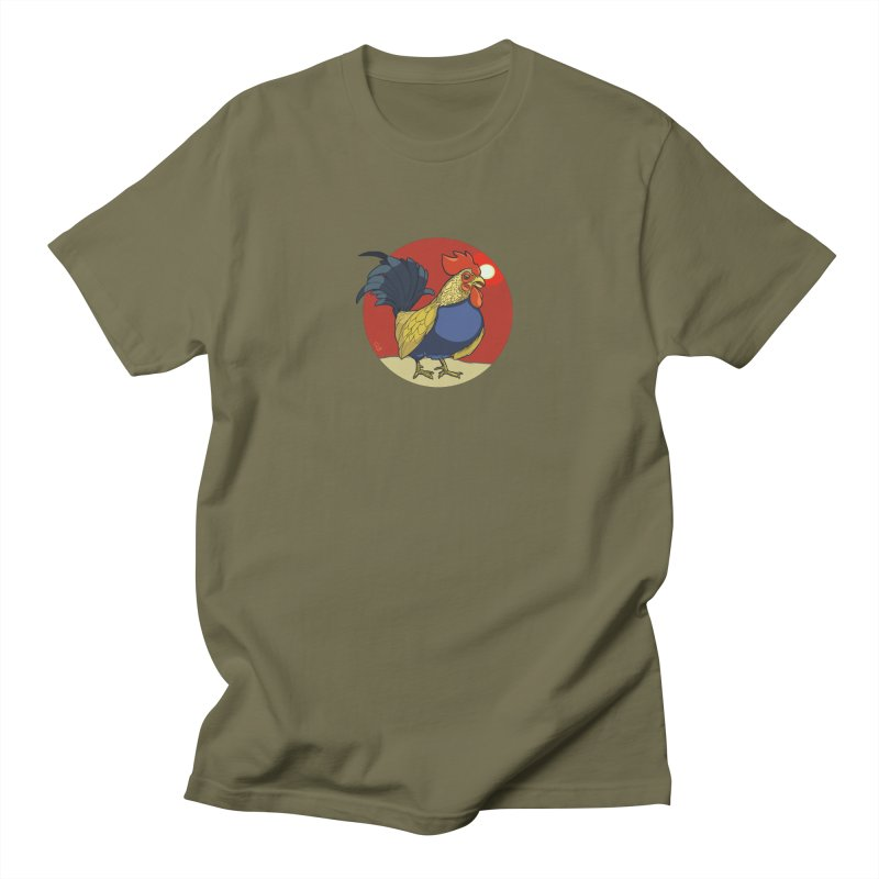 Rooster Zodiac Men's Regular T-Shirt by CB Design