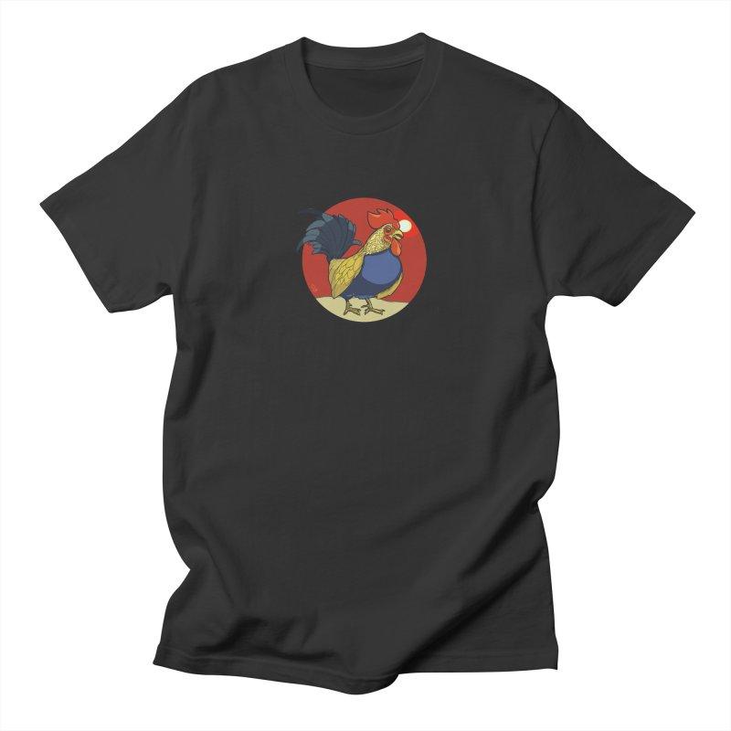 Rooster Zodiac Men's Regular T-Shirt by CB Design