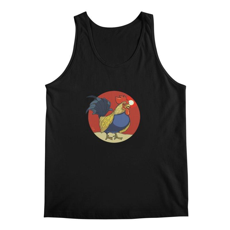 Rooster Zodiac Men's Regular Tank by CB Design