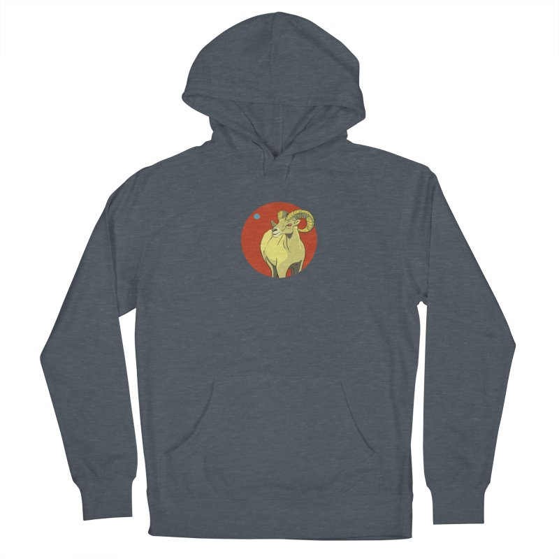 Sheep Zodiac Men's French Terry Pullover Hoody by CB Design