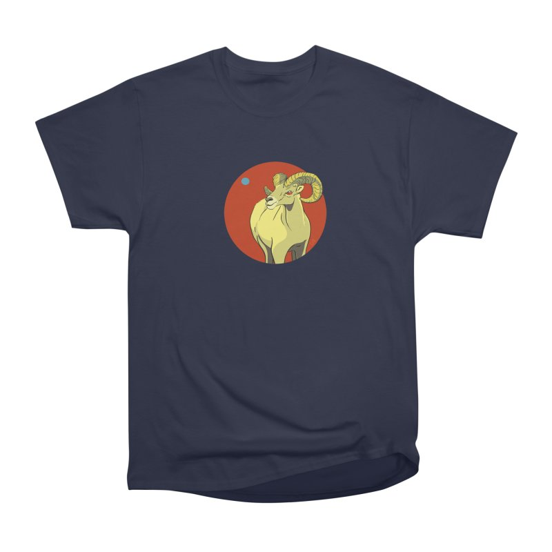 Sheep Zodiac Men's Heavyweight T-Shirt by CB Design