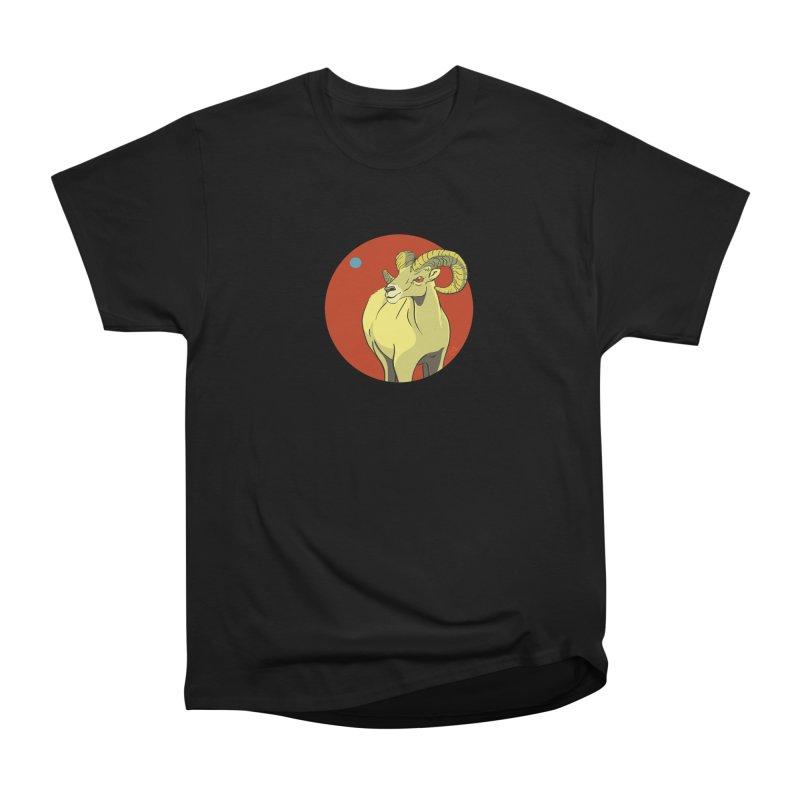 Sheep Zodiac Men's Heavyweight T-Shirt by CB Design