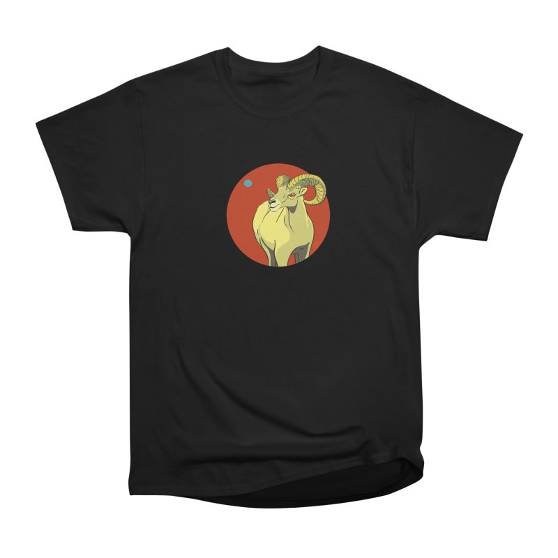 Sheep Zodiac Women's Heavyweight Unisex T-Shirt by CB Design