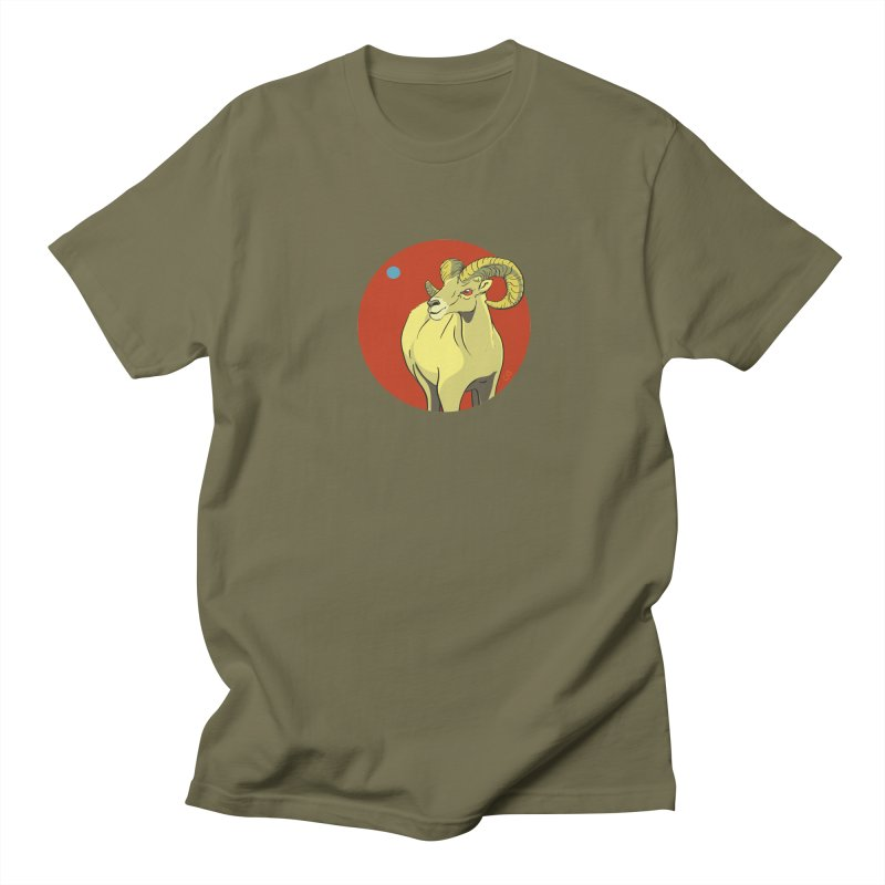 Sheep Zodiac Men's Regular T-Shirt by CB Design