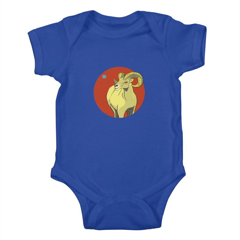 Sheep Zodiac Kids Baby Bodysuit by CB Design