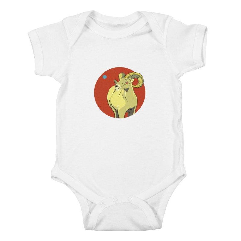 Sheep Zodiac Kids Baby Bodysuit by CB Design