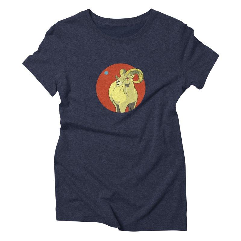 Sheep Zodiac Women's T-Shirt by CB Design