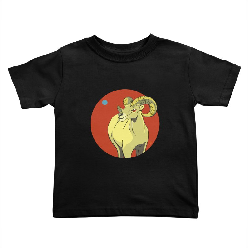 Sheep Zodiac Kids Toddler T-Shirt by CB Design