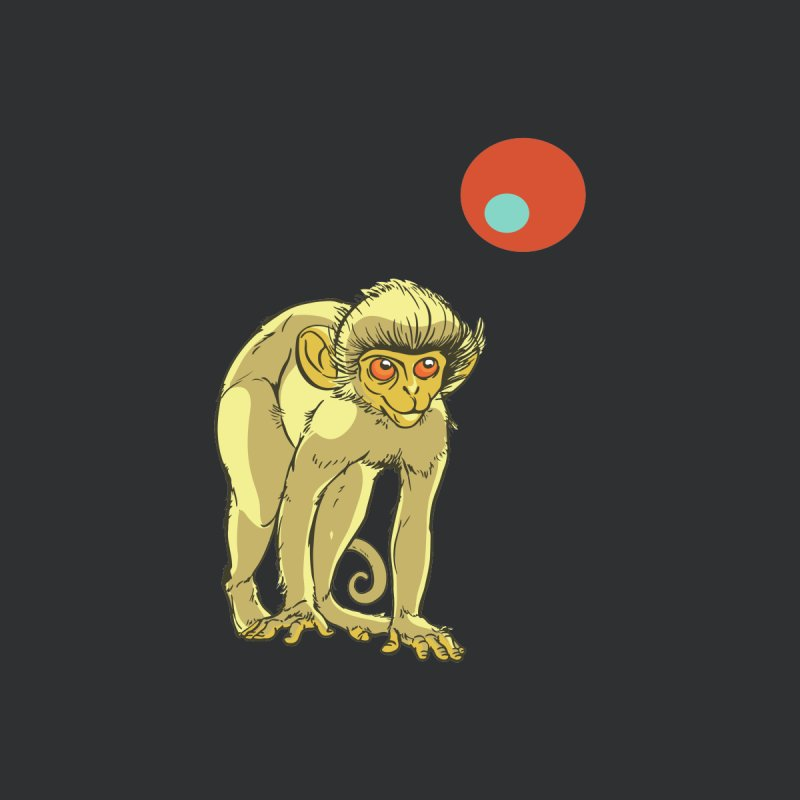 Monkey and Moon by CB Design