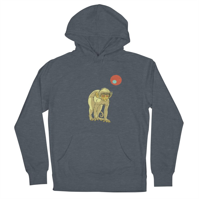 Monkey and Moon Men's Pullover Hoody by CB Design
