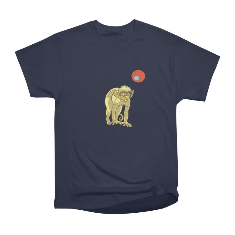 Monkey and Moon Women's Classic Unisex T-Shirt by CB Design