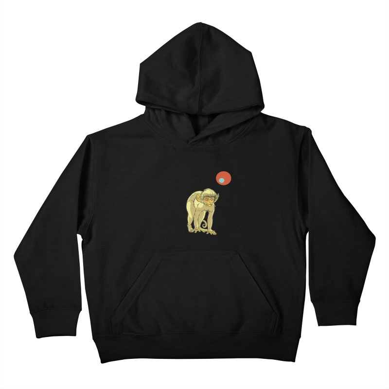 Monkey and Moon Kids Pullover Hoody by CB Design