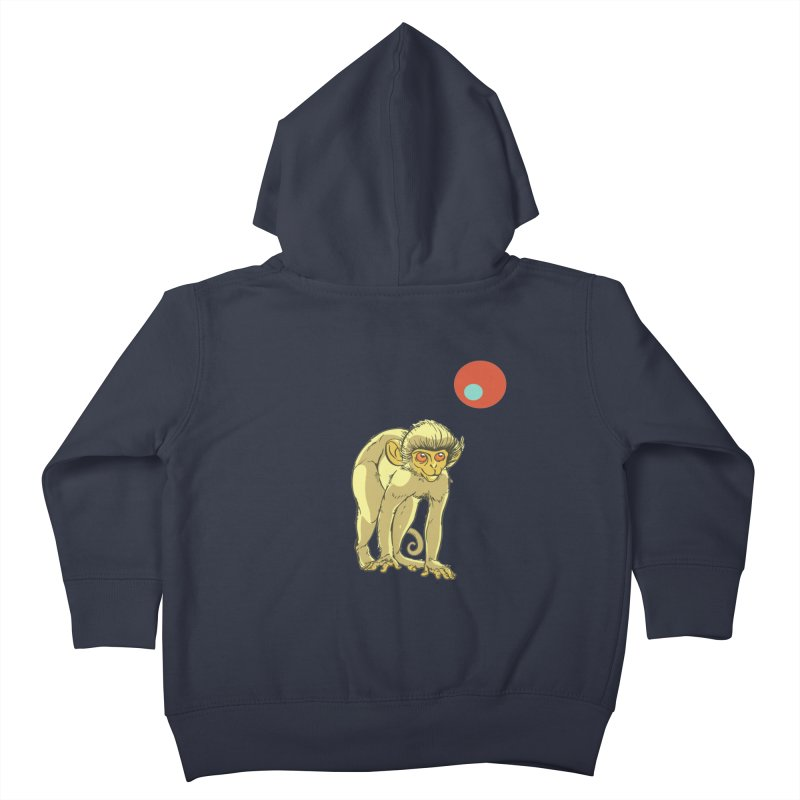 Monkey and Moon Kids Toddler Zip-Up Hoody by CB Design