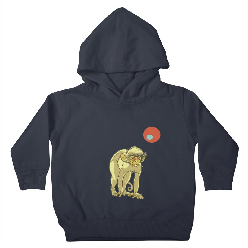 Monkey and Moon Kids Toddler Pullover Hoody by CB Design