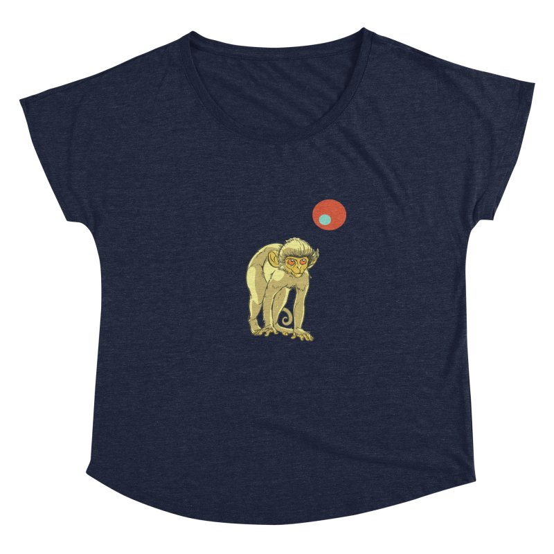 Monkey and Moon Women's Dolman by CB Design
