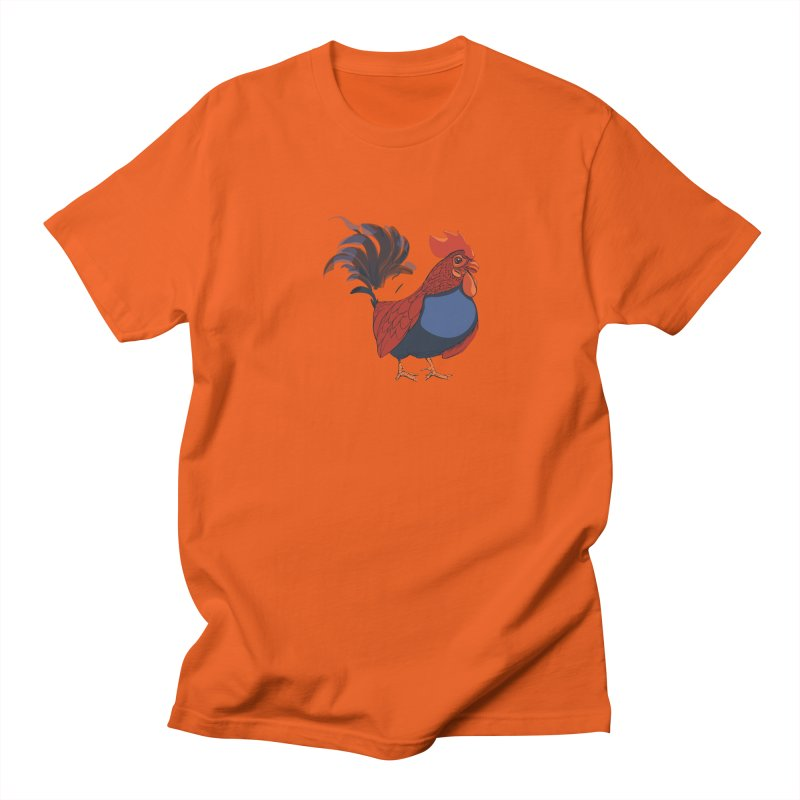 Rooster Men's T-Shirt by CB Design