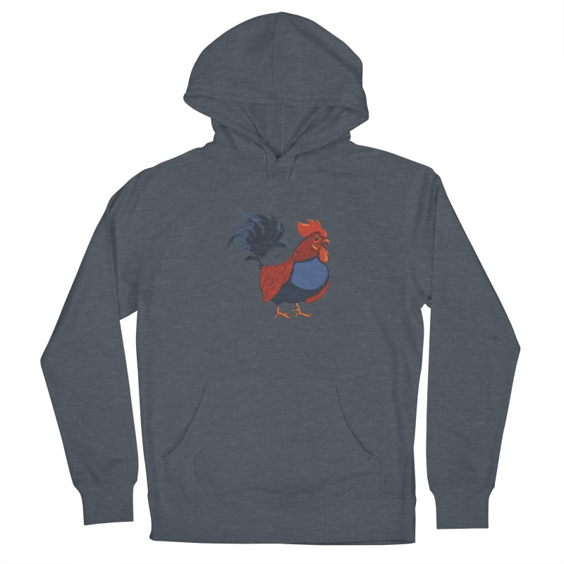 Rooster Women's Pullover Hoody by CB Design