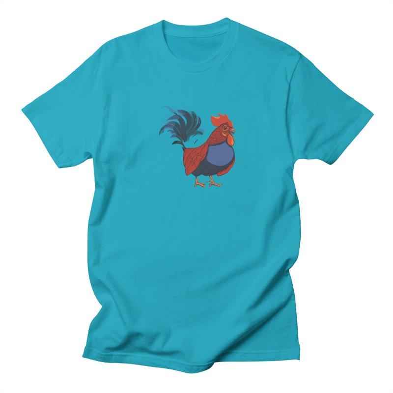 Rooster Men's Regular T-Shirt by CB Design
