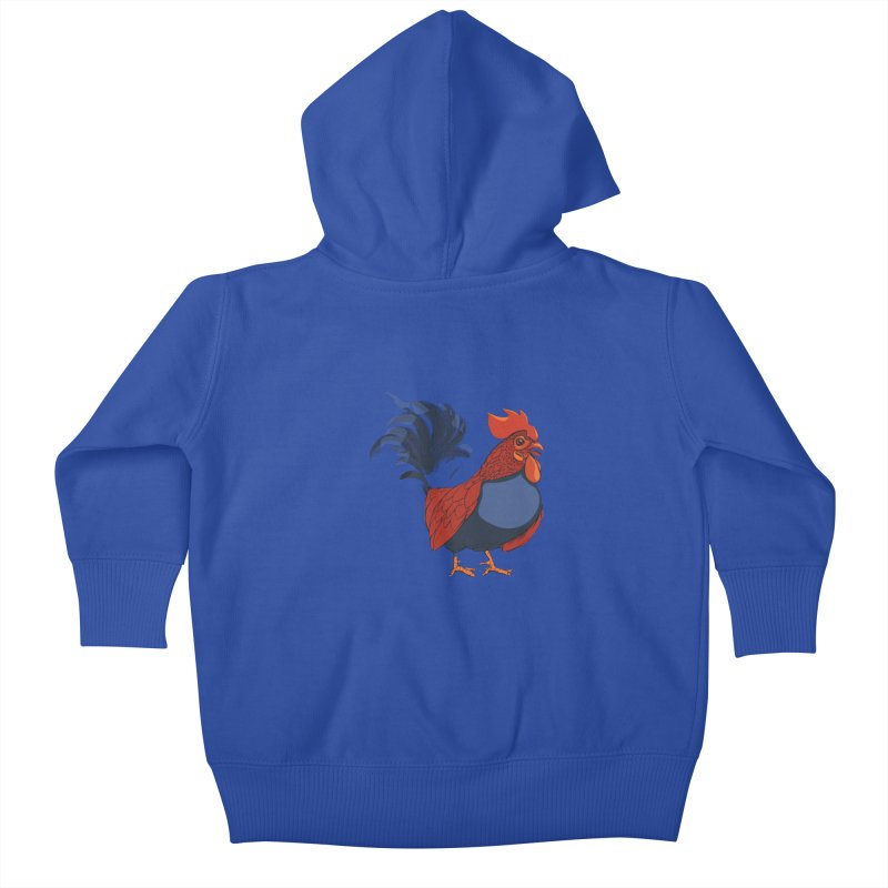 Rooster Kids Baby Zip-Up Hoody by CB Design