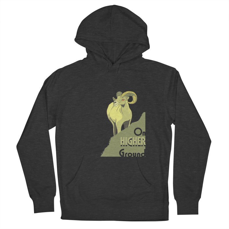 Sheep on Higher Ground Men's Pullover Hoody by CB Design