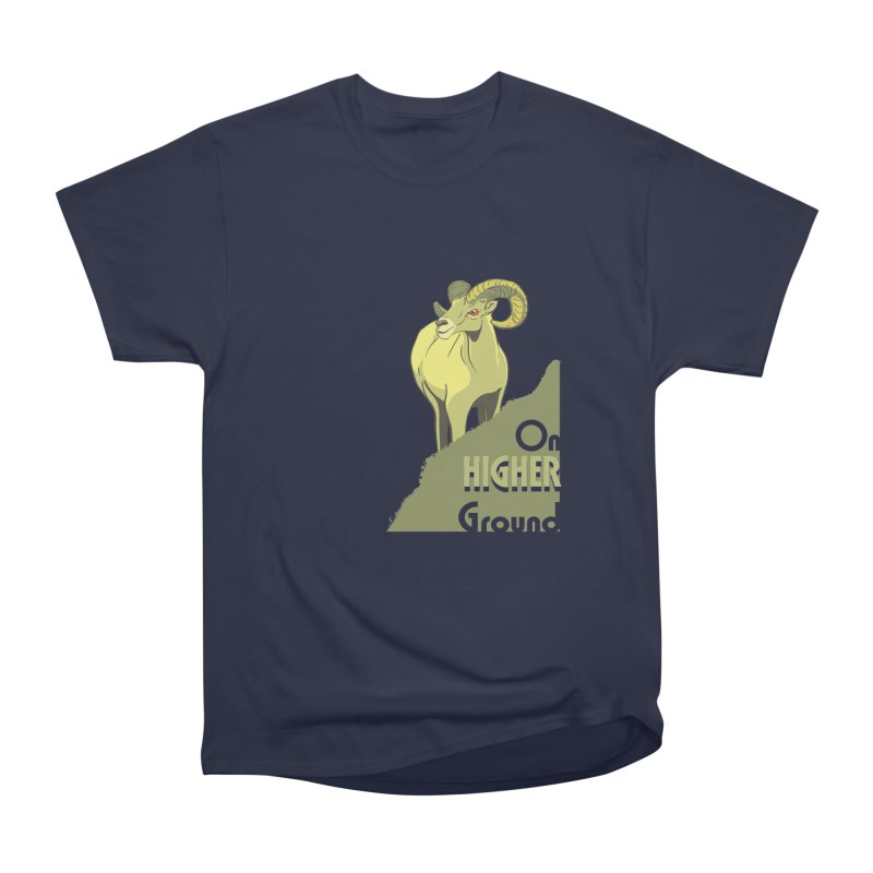 Sheep on Higher Ground Women's Classic Unisex T-Shirt by CB Design