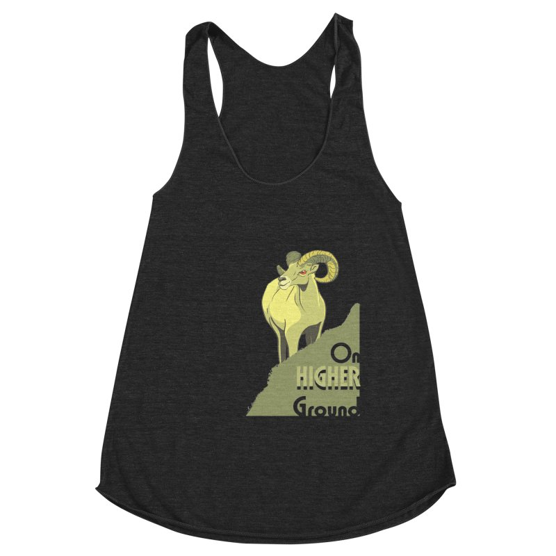 Sheep on Higher Ground Women's Tank by CB Design