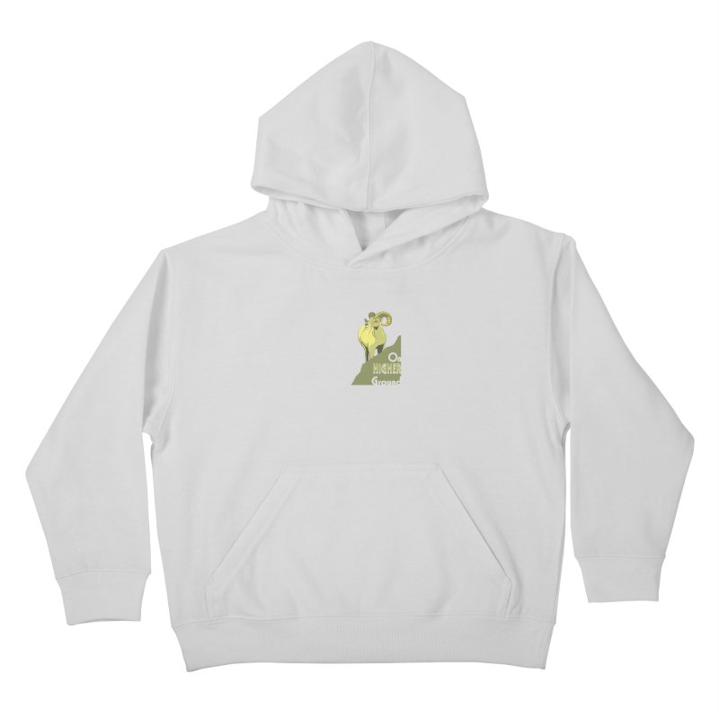 Sheep on Higher Ground Kids Pullover Hoody by CB Design
