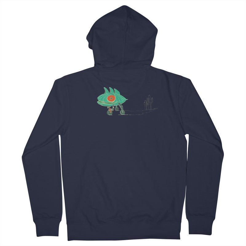 Trig Women's French Terry Zip-Up Hoody by CB Design