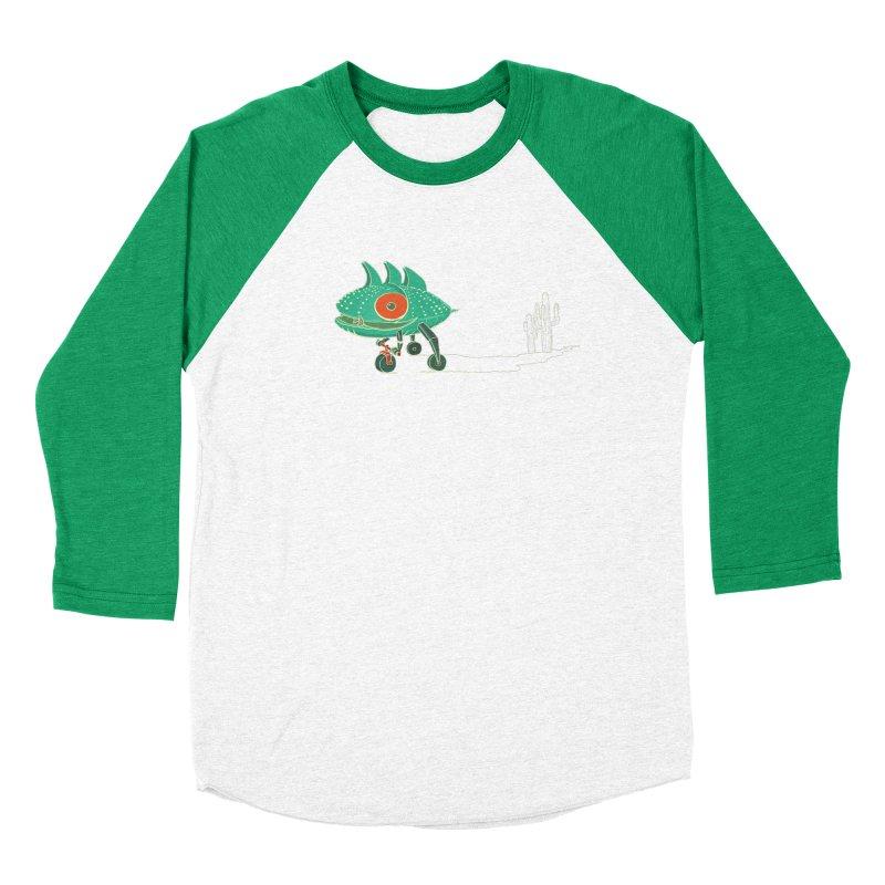 Trig Women's Baseball Triblend Longsleeve T-Shirt by CB Design