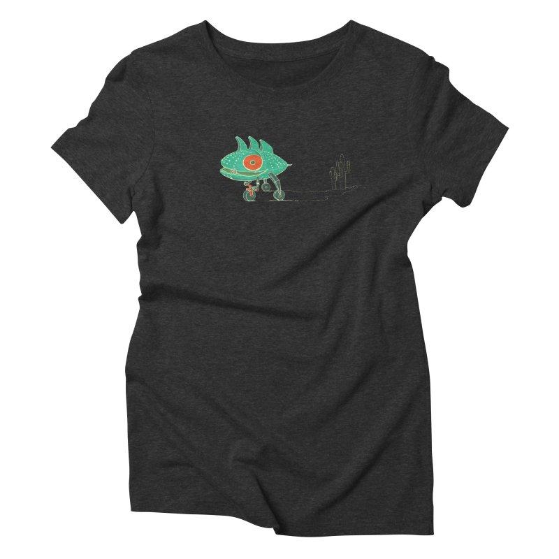 Trig Women's Triblend T-Shirt by CB Design