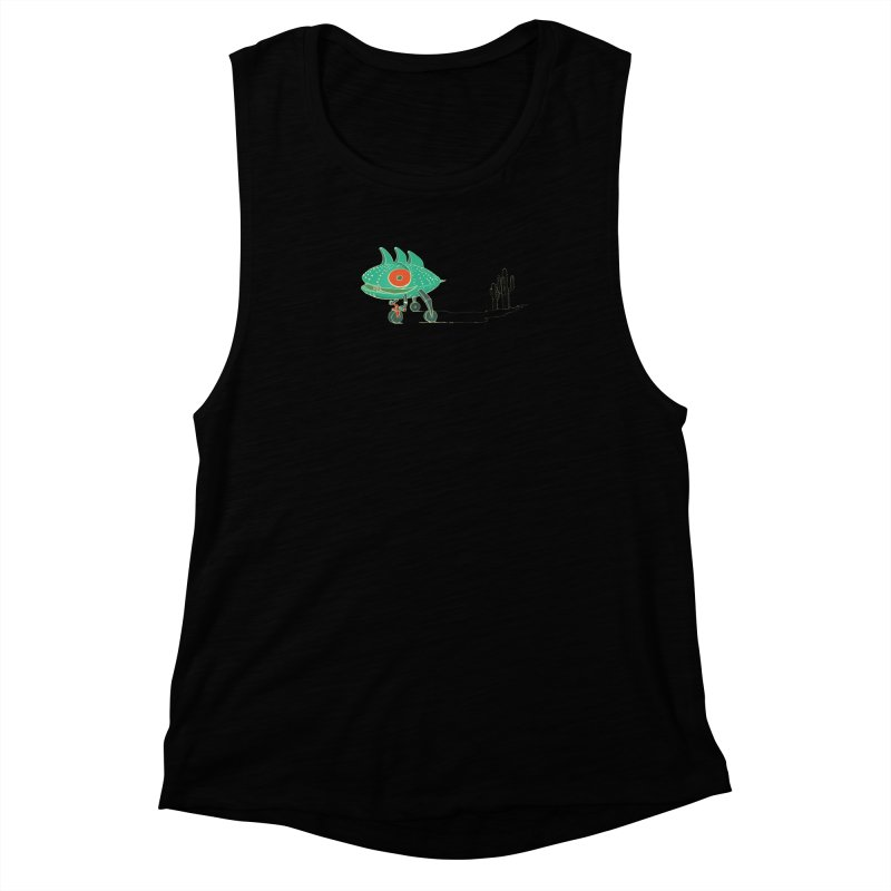 Trig Women's Muscle Tank by CB Design
