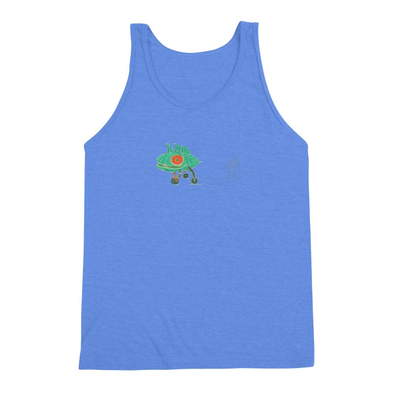 Trig Men's Triblend Tank by CB Design