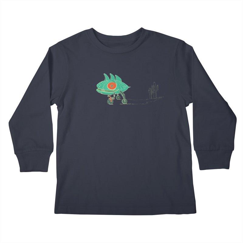 Trig Kids Longsleeve T-Shirt by CB Design