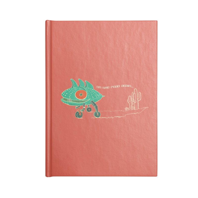 Trig: On The Road Again Accessories Notebook by CB Design