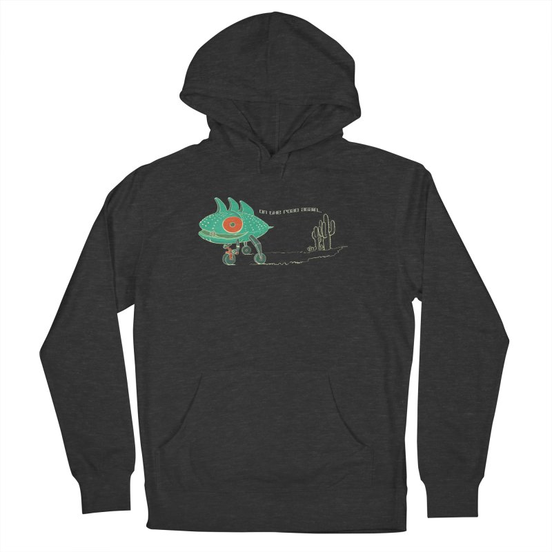 Trig: On The Road Again Women's French Terry Pullover Hoody by CB Design