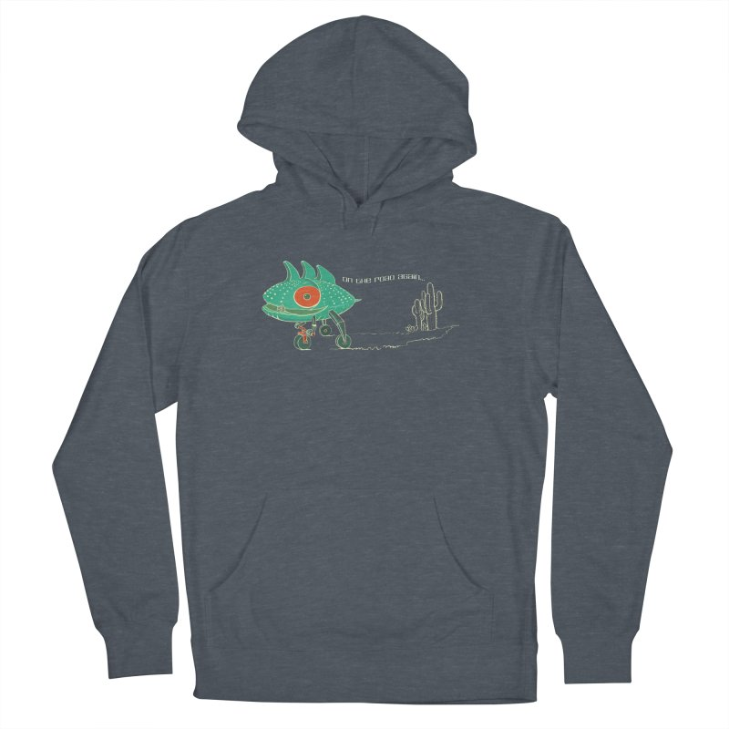 Trig: On The Road Again Men's French Terry Pullover Hoody by CB Design