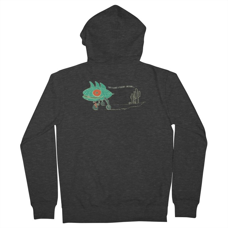 Trig: On The Road Again Women's Zip-Up Hoody by CB Design