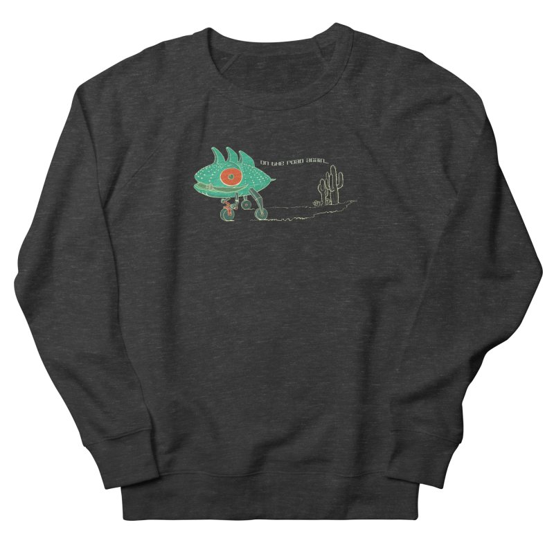 Trig: On The Road Again Women's French Terry Sweatshirt by CB Design