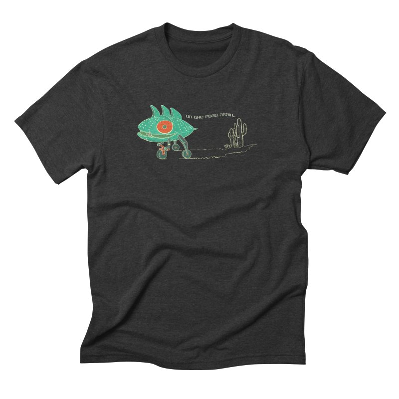 Trig: On The Road Again Men's Triblend T-Shirt by CB Design