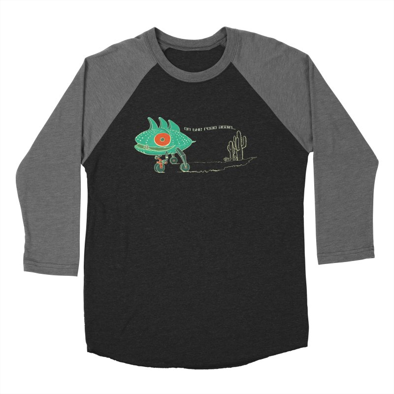 Trig: On The Road Again Men's Baseball Triblend Longsleeve T-Shirt by CB Design