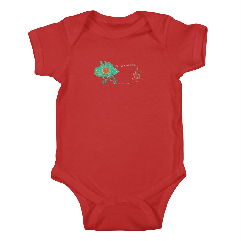 Trig: On The Road Again Kids Baby Bodysuit by CB Design